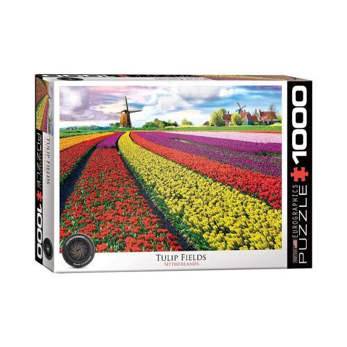 empireposter Puzzle »Tulpenfeld in Holland - 1000 Teile Puzzle im Format 68x48 cm«, 1000 Puzzleteile