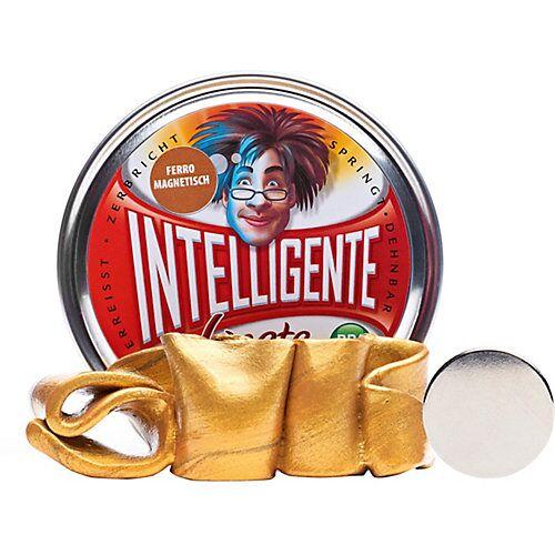 Intelligente Knete: Ferromagnetisch - Gold inkl. Super-Magnet gold