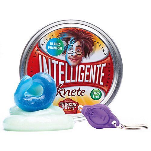 Intelligente Knete: Blaues Phantom inkl. Schwarzlicht-Lampe blau