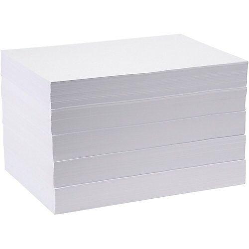 Zeichenpapier/Kopierpapier, A3 297x420 mm,  80 g, Weiß, 5x500 Blatt
