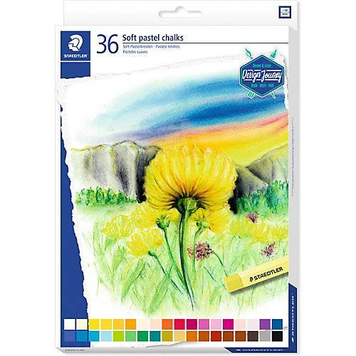 Staedtler Soft-Pastellkreiden, 36 Farben