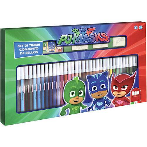 Pj Masks Activity Malset PJ Mask bunt
