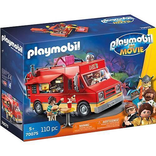 PLAYMOBIL® PLAYMOBIL: THE MOVIE Del's Food Truck