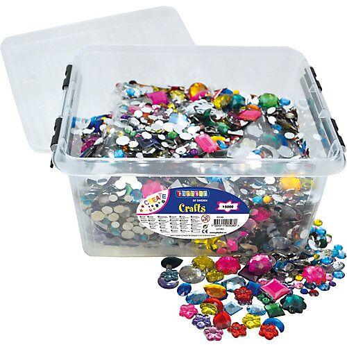 Playbox Kristallsteine in Box, 5.000 Stück