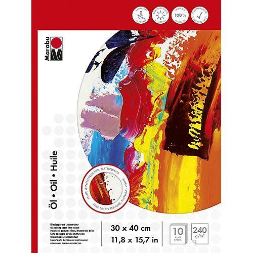 Marabu Malblock Ölmalerei 30 x 40 cm, 240 g  Kinder