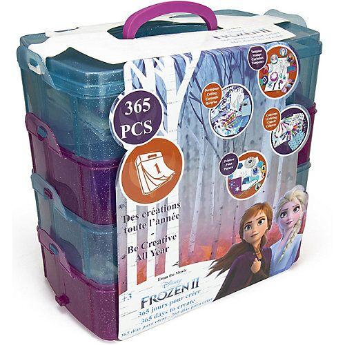 Disney Dieeiskoenigin Malkoffer XXL 365 Tage Disney Die Eiskönigin II, 365-tlg. blau