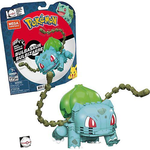 Mattel Mega Construx Pokémon Medium Bisasam, Bauset, Bausteine, Sammelfigur, 175 Teile
