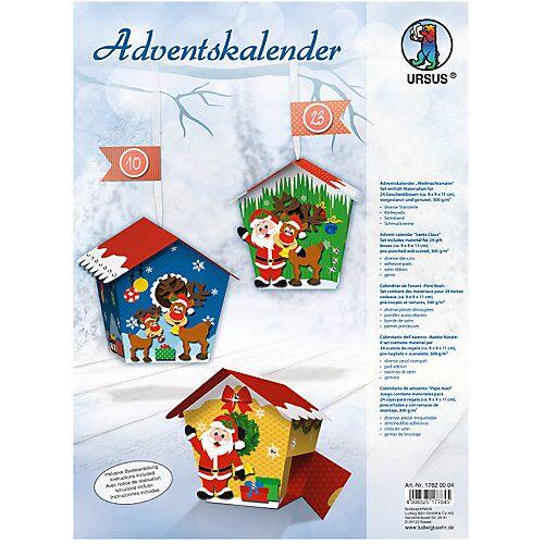 URSUS Kreativset Adventskalender Weihnachtsmann