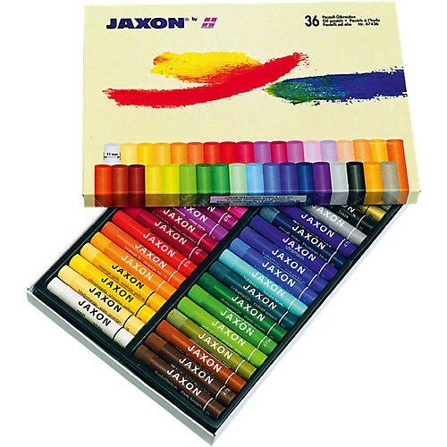 Jaxon Ölmalkreiden, 36 Farben beige-kombi