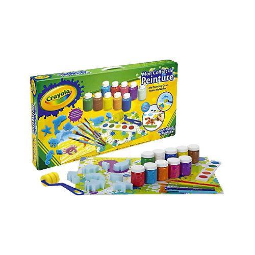Crayola Mein großer Malkoffer, 26 Teile