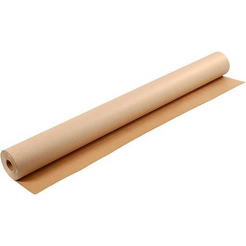 Kraft-Papier, B: 150 cm,  200 g, Braun, 50m