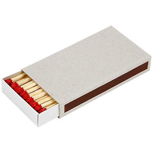 Streichholzschachtel, Größe 11,2x6x1,8 cm, 12 Stück