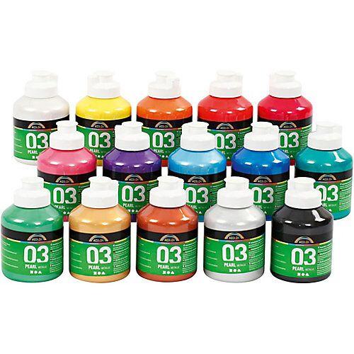 A-Color Acrylfarbe, 15 x 500 ml