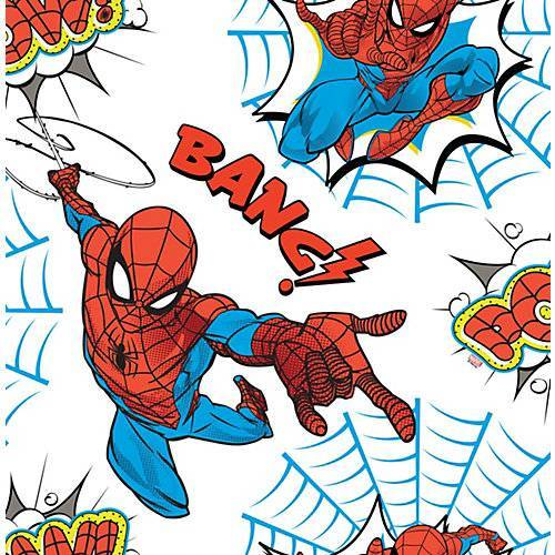Spider-Man Papiertapete Spiderman Pow!, 10 m x 53 cm bunt