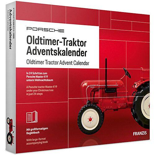 Franzis Oldtimer Traktor Adventskalender