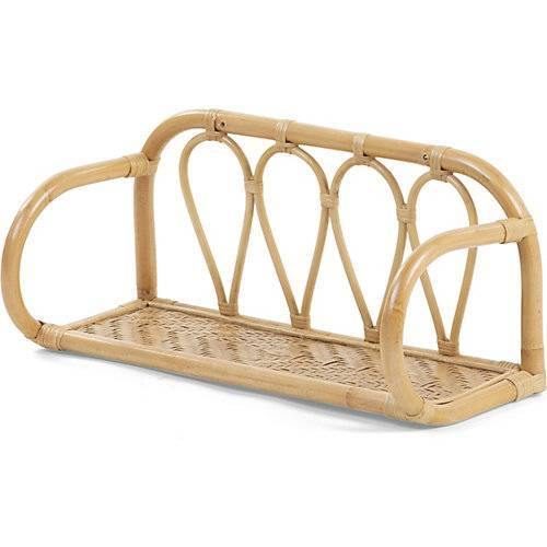 CHILDHOME Rattan Wandregal natur
