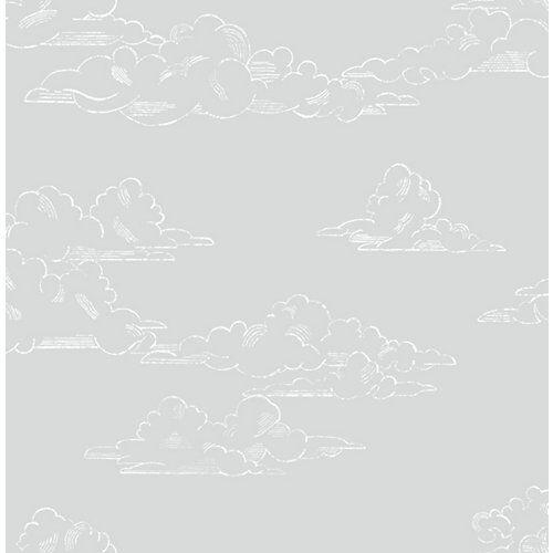 Superfresco Easy Vliestapete Vintage Cloud Grey, 10 m x 53 cm grau