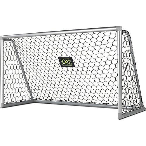 EXIT Fußballtor Scala Aluminium Tor, 220x120 cm silber
