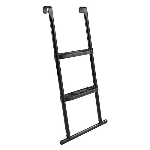 Salta Leiter Trampolin - 2 Sprossen - 98x52cm schwarz  Kinder