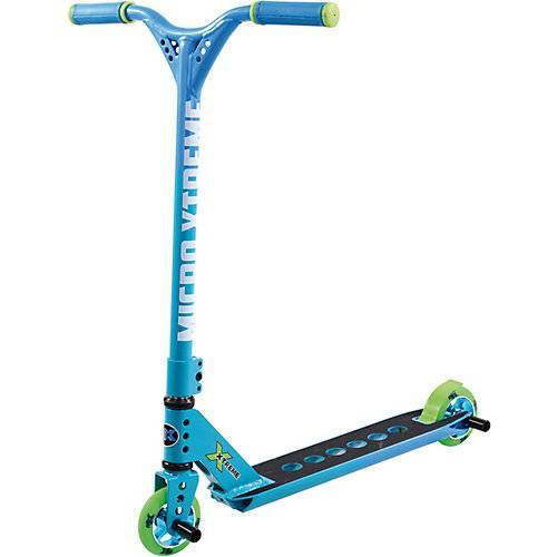 micro Stunt-Scooter mx trixx 2.0 rainbow, blau