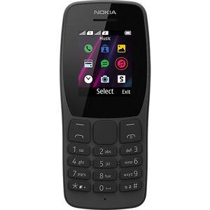 Nokia 110, Dual-SIM, black schwarz