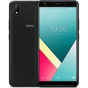 WIKO Y61 Smartphone, inkl. Soft Case & Schutzglas grau