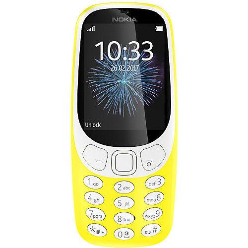 Nokia 3310 Retro Dual-SIM, gelb