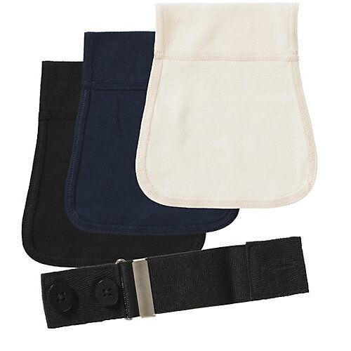 Carriwell Flexigürtel 3er-Pack für Hosen mehrfarbig Damen Kinder
