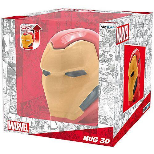 Marvel Heroes Tasse Marvel Iron Man 3D