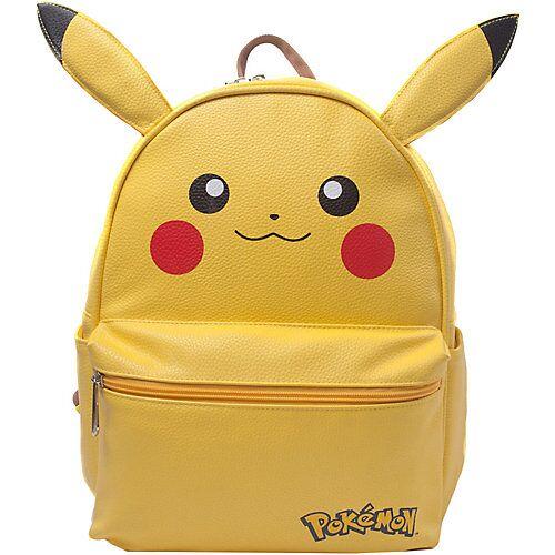 Pokemon Rucksack Pikachu gelb