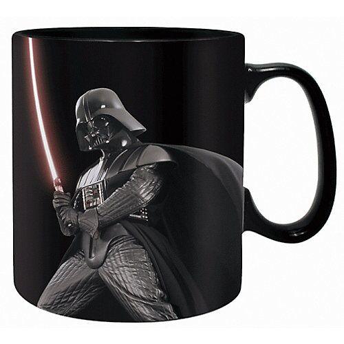 Starwars Tasse Star Wars Darth Vader Thermoeffekt 460 ml schwarz-kombi