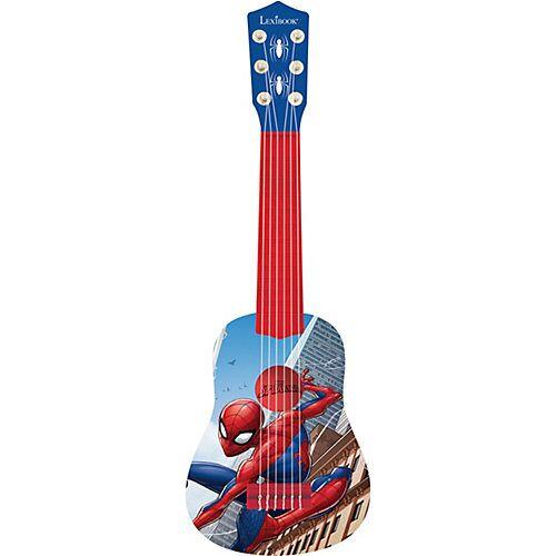 LEXIBOOK Spider-Man - Meine erste Gitarre, 53 cm blau/rot
