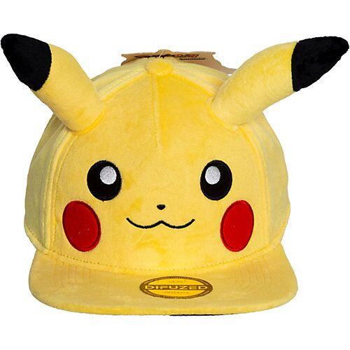 ak tronic Kappe Pikachu Plüsch gelb