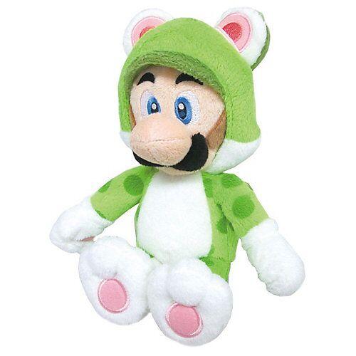 Super Mario Nintendo Plüschfigur - Luigi Katze (25cm)