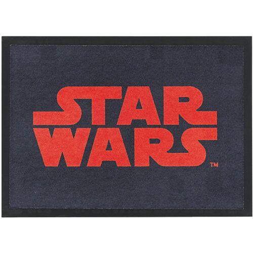 Starwars Fußmatte Star Wars, 50 x 70 cm schwarz/rot