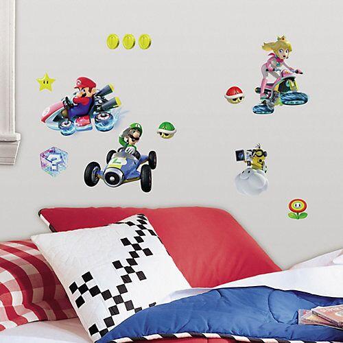RoomMates Wandsticker Nintendo Mario Kart 8, mehrfarbig