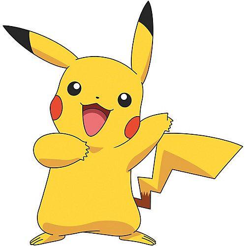 RoomMates Wandsticker Pokemon Pikachu Giant, 12-tlg. mehrfarbig