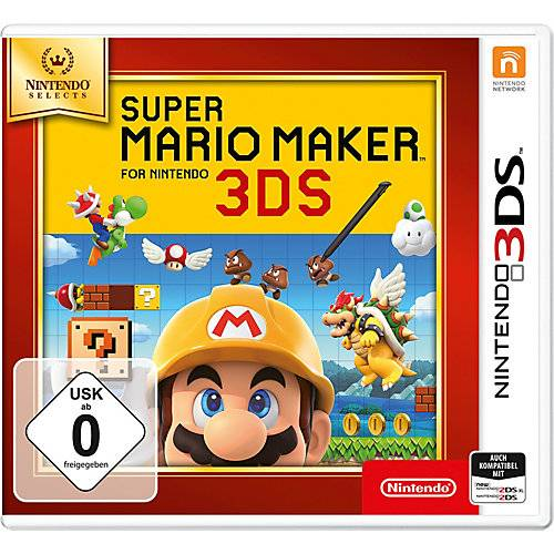 Nintendo 3DS Super Mario Maker (Selects)