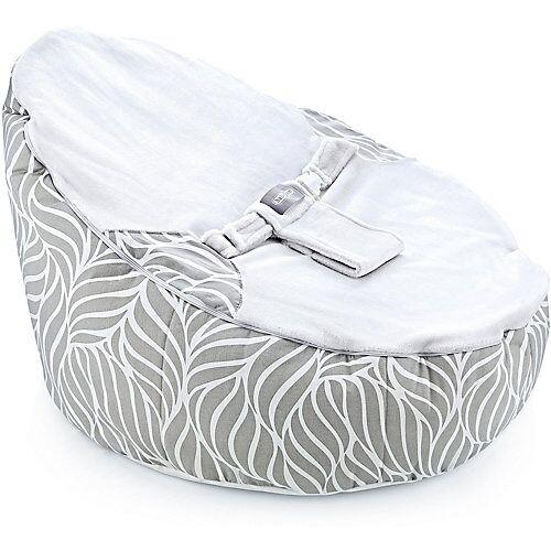 Babyjem Sitz- & Liegesack babyjem mit Gurt, grau
