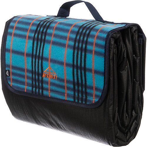 McKinley Camping-Decke Picnic Rug Striped petrol