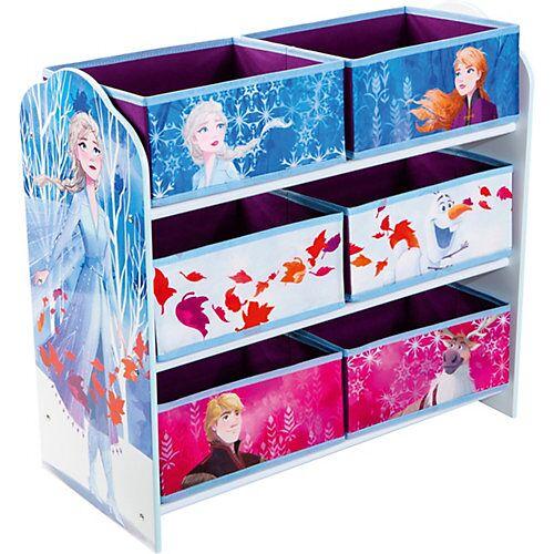 WORLDS APART Ablageregal Frozen 2, mit 6 Boxen