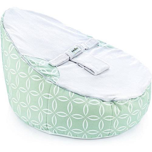 Babyjem Sitz- & Liegesack babyjem mit Gurt, grün