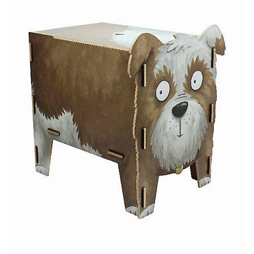 WERKHAUS® Werkhaus Vierbeiner Hocker, Streuner Hund