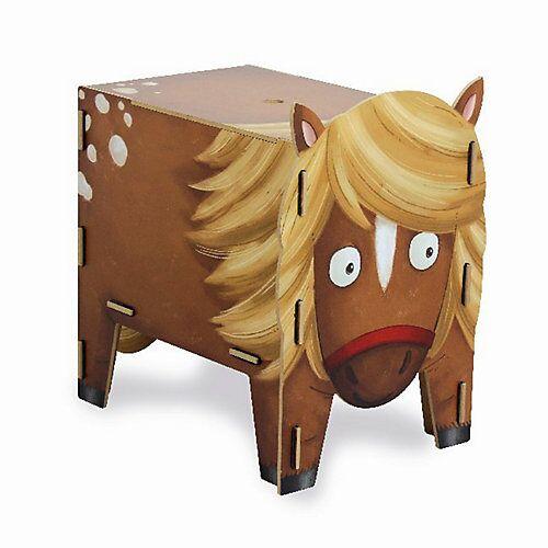 WERKHAUS® Werkhaus Vierbeiner Hocker, Pony