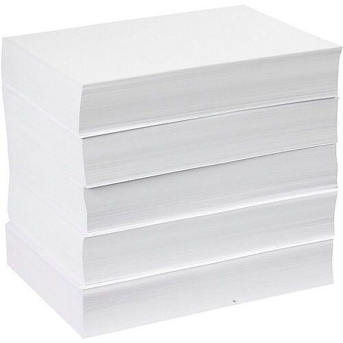 Zeichenpapier/Kopierpapier, A4 210x297 mm,  80 g, Weiß, 5x500 Blatt