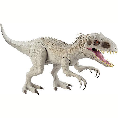 Mattel Jurassic World Riesendino Indominus Rex, ca. 45cm groß und 105cm lang