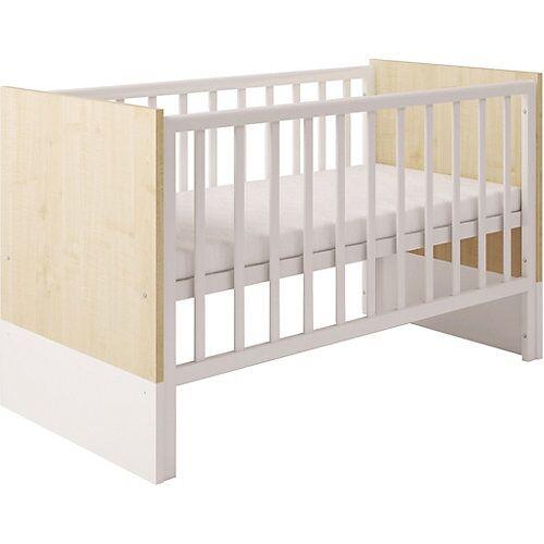 Polini-kids Kombi-Kinderbett Classic 140 x 70 cm, weiß, 1239.39
