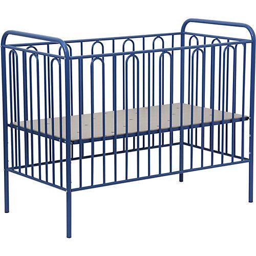 Polini-kids Kinderbett Vintage 110 aus Metall, blau