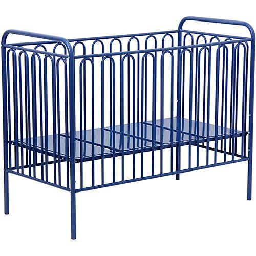 Polini-kids Kinderbett Vintage 150 aus Metall, blau