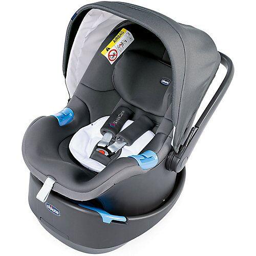 CHICCO Babyschale OASYS, Cool Grey schwarz
